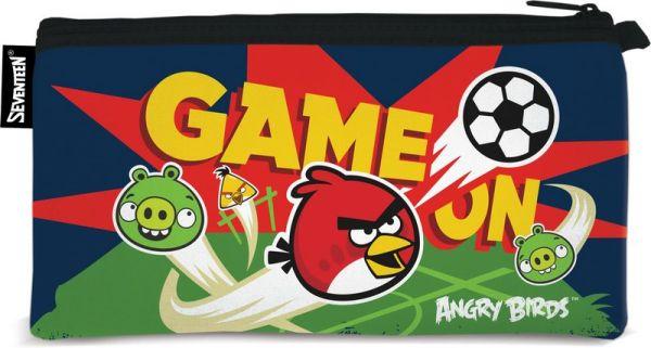 Пенал неопреновый на молнии. Размер 11 х 20,5 см, Упак. 12/24/144 шт.Angry Birds