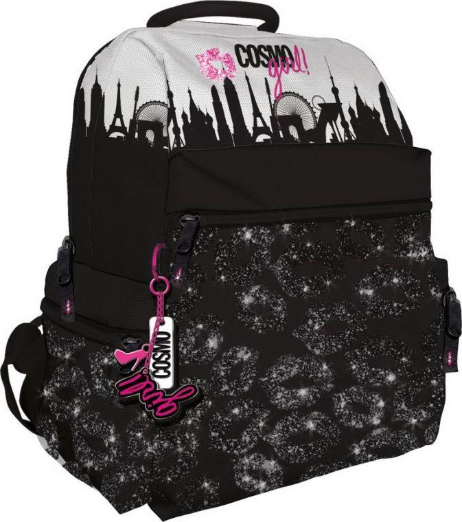 Школьный рюкзак. Одно вместительное отделение на молнии, небольшой внутренний карман на молнии. Фронтальная частьРюкзака дополнена карманом на молнии.