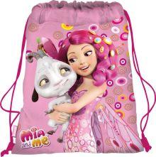 Сумка-рюкзак для обуви. Выполнена из прочного материала. Размер 43 х 34 х 1 см, Упак. 12/24/96 шт.Mia and Me