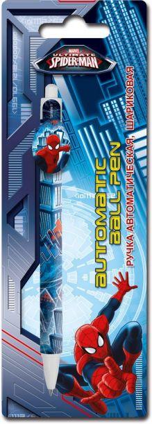 Ручка шариковая с фигурным клипом в блистере. Размер 20 х 7 х 1,5 см Упак. 48/384 шт.Spider-man Classic