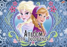 Альб д.рис 20л скр А4 D3608-EAC твин УФ, тисн фольг Frozen