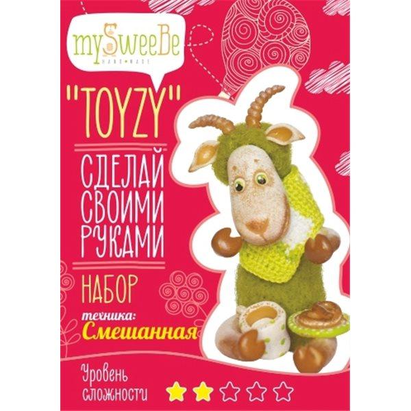 Набор TOYZY Козочка - техника смешанная набор для творчества toyzy техника валяние начальный уровень сова белая
