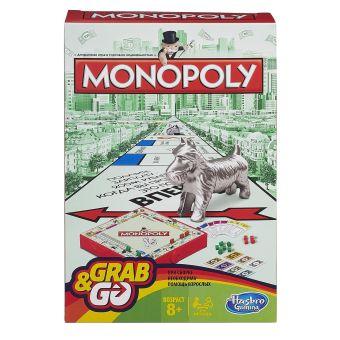 Настольная игра Дорожная Игра Монополия (Настольная игра) (B1002) GAMES