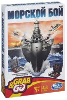 Настольная игра Дорожная Игра Морской бой (Настольная игра) (B0995)