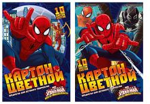 Карт цв д/дет тв 10цв 10л(2мет) премиум Папка 200*290 SM341/2-EAC Spider-man Classic Sev