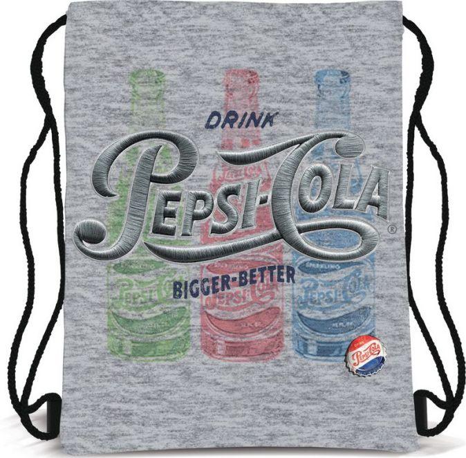 Сумка-рюкзак для обуви. Выполнена из прочного материала. Размер 43 х 34 х 1 см.  Упак. 12/24/96 шт. Pepsi