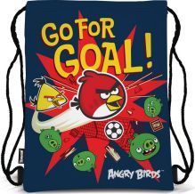 Сумка-рюкзак для обуви. Выполнена из прочного материала. Размер 43 х 34 х 1 см. Упак. 12/24/96 шт. Angry Birds