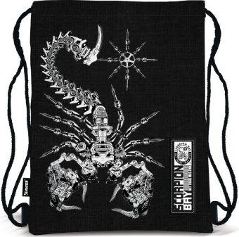 Сумка-рюкзак для обуви. Выполнена из прочного материала. Размер 43 х 34 х 1 см. Упак. 12/24/96 шт. Scorpion Bay
