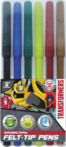 Набор цветных фломастеров, 6шт. Размер одного фломастера - 14,6 х 0,8 см, (с колпачком). Колпачок - вентилируемый, в цвет наконечника, непрозрачный. Н