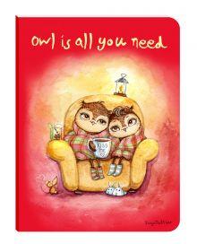 Блокнот. Уютные совы (Owl is all you need) (мини)