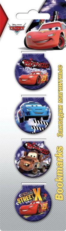 Закладки магнитные.Cars CRCB-US1-BM26-H4