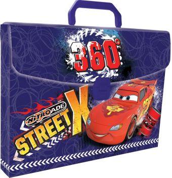 Пластиковая папка-чемодан, с застежкой и ручкой. Толщина - 0,65 мм. Печать на корпусе - полноцветная, офсетная. Размер 26 х 33,5 х 5 см Упак. 8 шт.Car