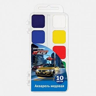 Акварель СТРИТРЕЙСИНГ 10 цв. пласт.уп.