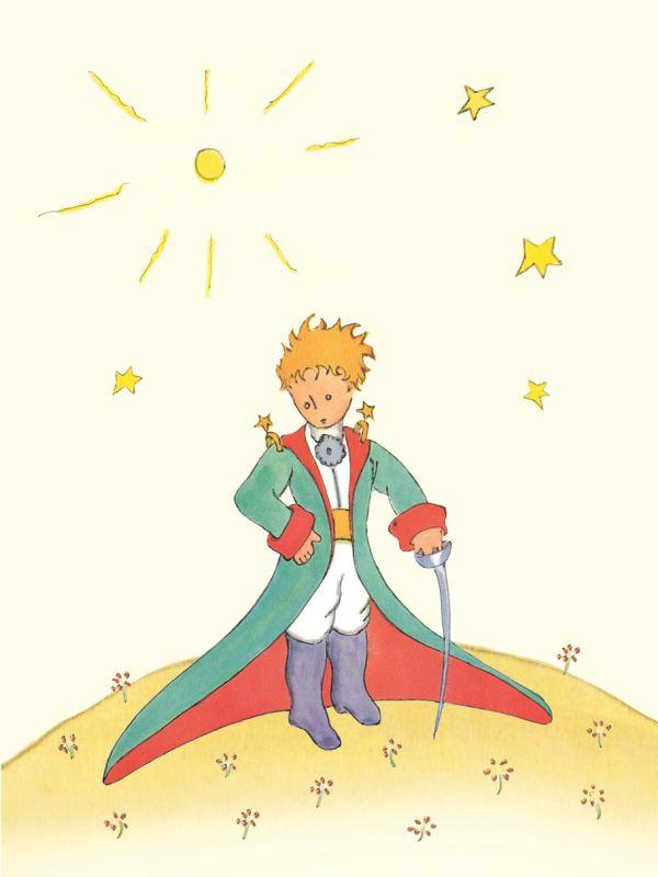 Блокнот Маленький принц. Книга 1 Сент-Экзюпери А.