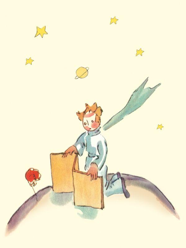 Блокнот Маленький принц. Книга 4 Сент-Экзюпери А.