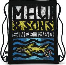 Сумка-рюкзак для обуви. Выполнена из прочного материала. Размер 43 х 34 х 1 см, Упак. 12/24/96 шт.Maui and Sons