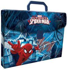 Пластиковая папка-чемодан, с застежкой и ручкой. Толщина - 0,65 мм. Печать на корпусе - полноцветная, офсетная. Размер 26 х 33,5 х 5 см Упак. 8 шт.Spi