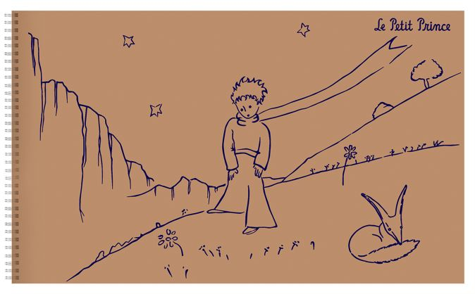 Маленький принц. Альбом для зарисовок 1 Сент-Экзюпери А.