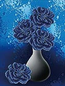 Наборы для вышивания 11ст. Цветы ночи (7035-3D)