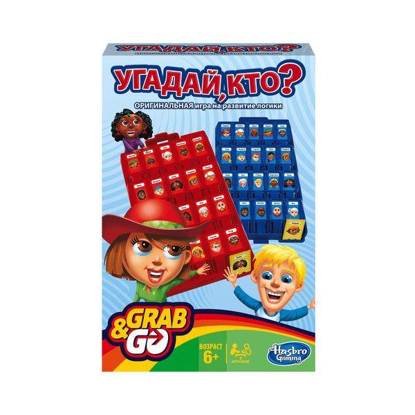 Дорожная Игра Угадай кто? (Настольная игра) (B1204) GAMES