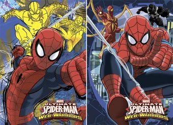 Бл 40л Клей 120*170 SM327/2-ЕАС твин УФ Spider-man Classic