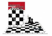 ШАХМАТЫ И ШАШКИ КЛАССИЧЕСКИЕ В ПАКЕТЕ + поле (Арт. ИН-0159)