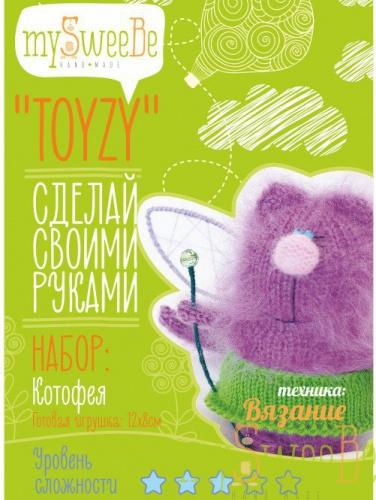 """Набор TOYZY """"Котофея"""" - техника вязание"""
