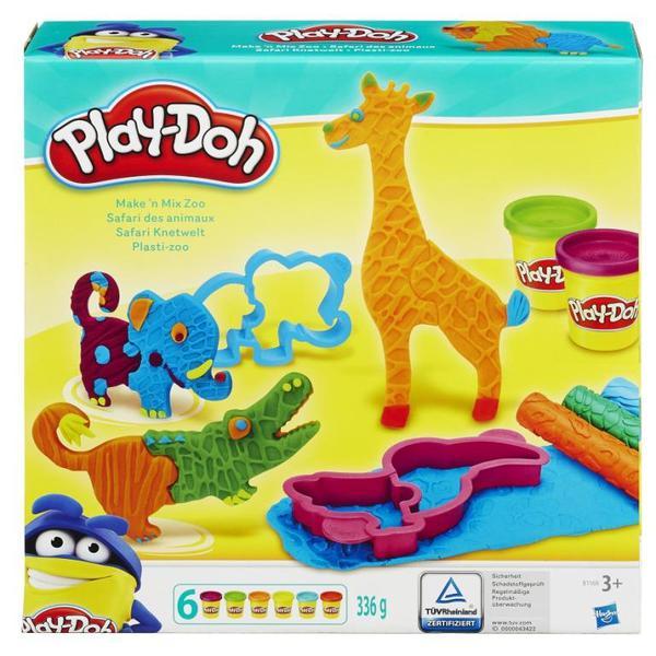 """PLAY-DOH - Play-Doh Игровой набор """"Веселое Сафари"""" (B1168) обложка книги"""