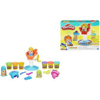 """PLAY-DOH - Play-Doh Игровой набор """"Сумасшедшие прически"""" (B1155) обложка книги"""