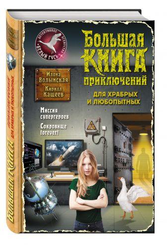 Илона Волынская, Кирилл Кащеев - Большая книга приключений для храбрых и любопытных обложка книги