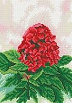 Мозаика на подрамнике. Красный флокс (138-ST-R)