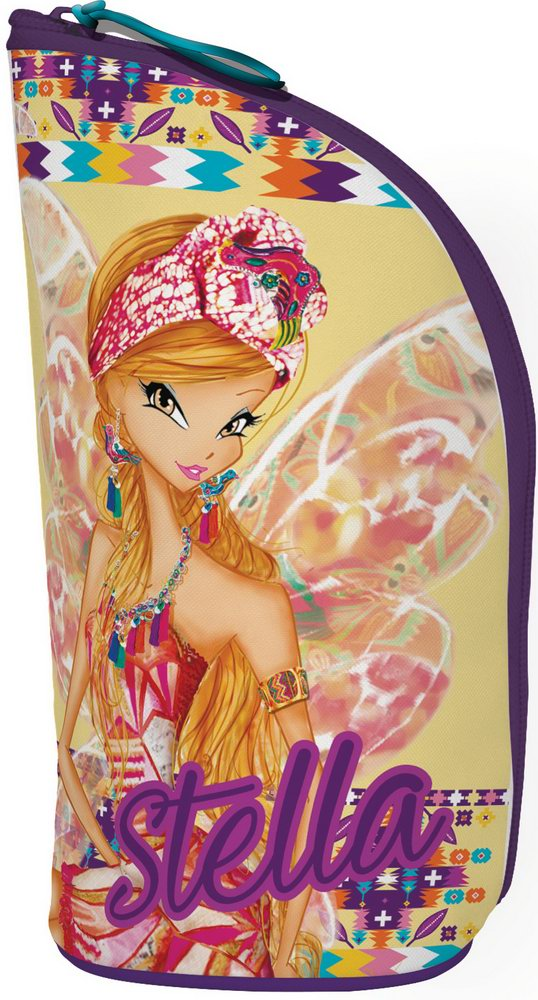 Пенал - подставка под канцелярию Размер 21 х 8 х 8 см Упак. 6//48 шт.Winx Fairy Couture