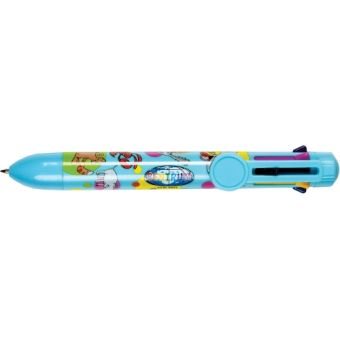 Ручка шариковая -автомат  ANIMAL 8-х цветная