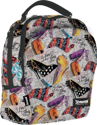 УниверсальныйРюкзак-сумка. Одно основное отделение на молнии. Большое отделение содержит потайной карман на молнии и карман для мобильного телефона и
