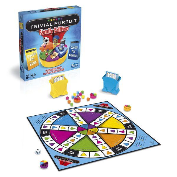 Игра Тривиал Персьюит. Семейная игра. (Настольная игра) (73013) игра глоссолалия mag00733