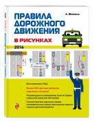 Финкель А.Е. - Правила дорожного движения в рисунках (редакция 2016 г.)' обложка книги