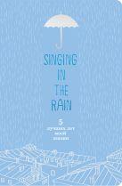 Бумажная продукция Singing in the Rain. 5 лучших лет моей жизни (голубой)