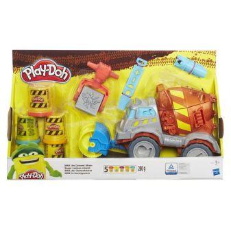 """PLAY-DOH - Play-Doh Игровой набор """"Задорный Цементовоз Вова"""" (B1858) обложка книги"""