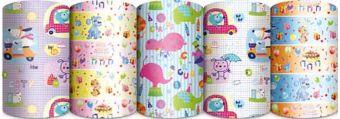 Упаковочная бумага супергладкая, 65 gsm, (пр-во Италия), рулон в термоусадочной пленке, Упак. по 50 шт. в коробку-дисплей, (5 дизайнов в ассортименте)