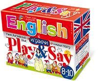 Сундучок с играми. Учим английский язык. (Play&Say) Уровень 3. Красный
