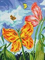 Мозаика на подрамнике. Бабочки (180-ST-R)