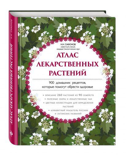 Атлас лекарственных растений. 900 домашних рецептов, которые помогут обрести здоровье - фото 1