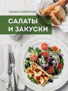 Большая энциклопедия. Салаты и закуски (книга + подарок)