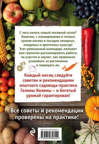 Садово-огородный календарь на каждый день Галина Кизима