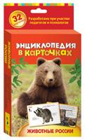Животные России. Энциклопедия в карточках
