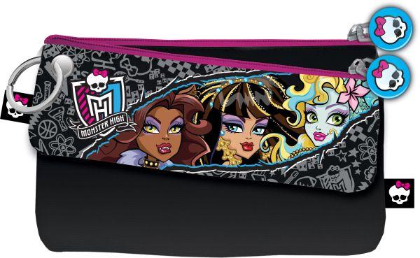Набор из двух косметичек: Малая 6 х 21 см Большая 12 х 21 см Упак. 12//144 шт. Monster High