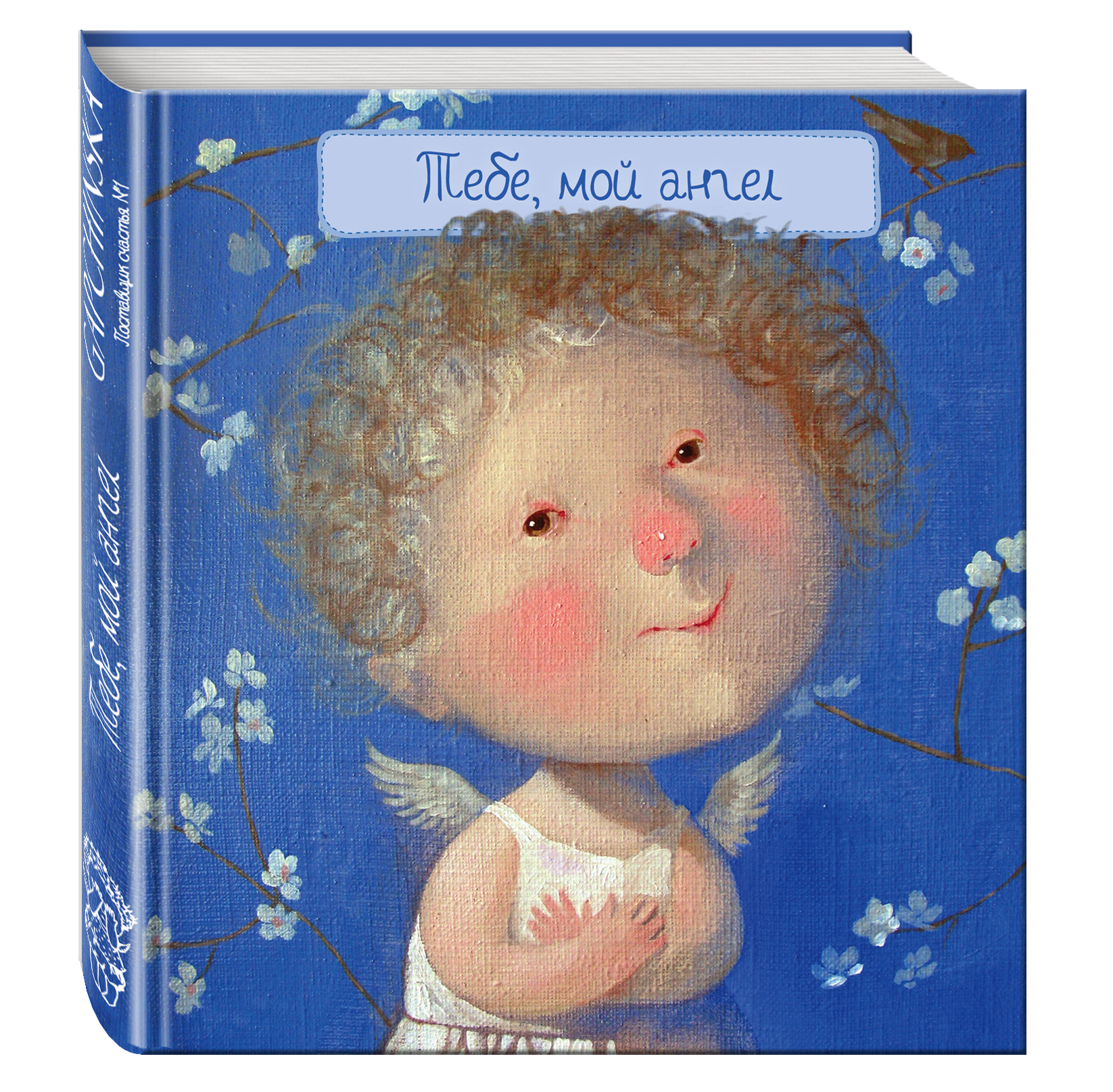 Тебе, мой ангел (книга в формате ПЛЧ) 2-е издание гапчинская евгения тебе мой ангел 15 открыток с картинками евгении гапчинской с пожеланиями для самых близких