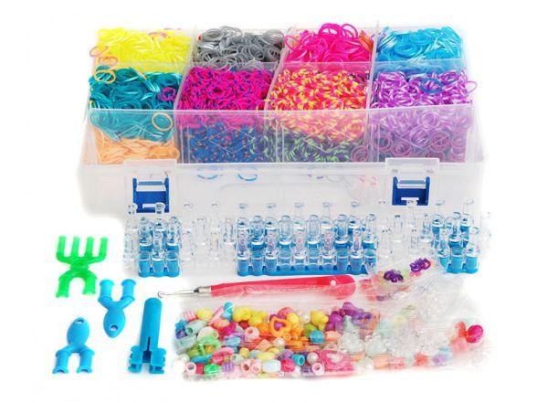 Наборы для плетения. Набор резиночек (8000 шт) Большой карнавал (393-RB)