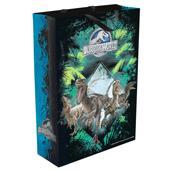 "Пакет подар ""Парк Юрского периода"" зел,350х250х90"