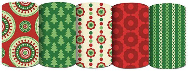Упаковочная бумага супергладкая, 65 gsm,  70 х 100 см, рулон в термоусадочной пленке, Упак. 50 шт./ коробка-дисплей , (5 дизайнов в ассортименте),EAC